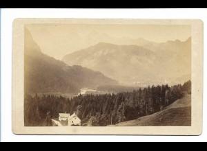 S2065/ CDV Foto Unken ca.1865