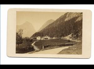 S2054/ CDV Foto Schneizlreuth Berchtesgadener Land ca. 1865