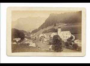 S2059/ CDV Foto Ramsau ca. 1865
