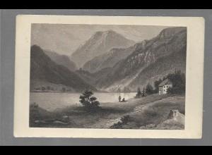 Y16437/ CDV Foto Thumsee in Bayern Verlag Max Ravizza, Mücnehn ca.1860