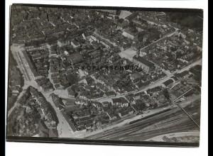 ZZ-0694/ Ansbach seltenes Foto Luftbild 1935 18 x 13 cm