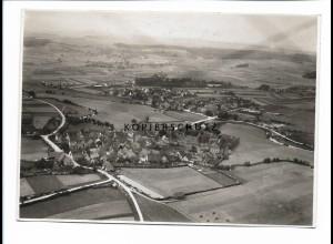 ZZ-0691/ Lichtenau b. Ansbach seltenes Foto Luftbild 1939 17 x 12 cm