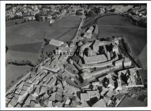 ZZ-0689/ Lichtenau b. Ansbach seltenes Foto Luftbild 1939 18 x 13 cm
