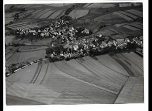 ZZ-0686/ Michelbach seltenes Foto Luftbild 1938 18 x 13 cm