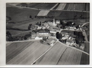 ZZ-0030/ Leberskirchen b. Vilsbiburg Foto Strähle Luftbild 1938 18 x 13 cm