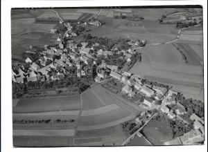 ZZ-0673/ Weidenbach seltenes Foto Luftbild 1939 18 x 13 cm