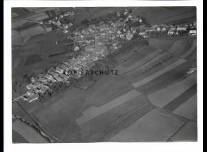 ZZ-0672/ Weidenbach seltenes Foto Luftbild 1939 18 x 13 cm