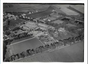 ZZ-0671/ Triesdorf-Weidenbach seltenes Foto Luftbild 1939 18 x 13 cm