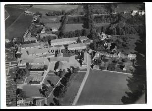 ZZ-0670/ Triesdorf-Weidenbach seltenes Foto Luftbild 1939 18 x 13 cm