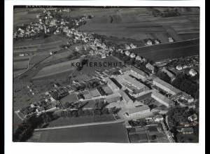 ZZ-0669/ Triesdorf-Weidenbach seltenes Foto Luftbild 1939 18 x 13 cm