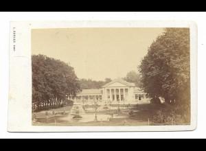 S2131/ CDV Foto Wiesbaden Atelier Ludwig Bender ca.1865