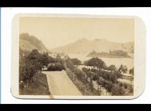 S2128/ CDV Foto Siebengebirge ca.1860