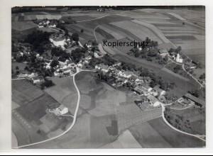 ZZ-0027/ Poxau bei Marklkofen Foto Strähle Luftbild 1938 18 x 13 cm