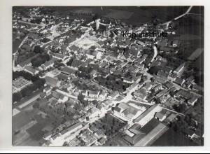 ZZ-0026/ Frontenhausen Foto Strähle Luftbild 1938 18 x 13 cm