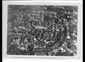 ZZ-5145/ Tauberbischofsheim Foto seltenes Luftbild 18 x 13 cm 1937