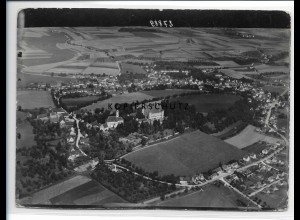 ZZ-4007/ Erbach Foto seltenes Luftbild 1937 18 x 13 cm
