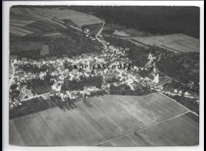 ZZ-0812/ Altheim (Alb) Foto seltenes Luftbild 1938 18 x 13 cm