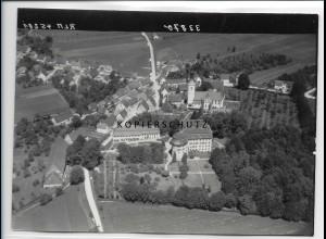 ZZ-0805/ Oberstadion bei Biberach Foto seltenes Luftbild 1938 18 x 13 cm
