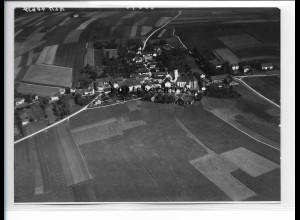 ZZ-0803/ Loizenkirchen bei Aham Foto seltenes Luftbild 1938 18 x 13 cm