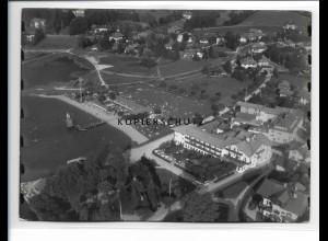 ZZ-0801/ Rottach am Tegernsee Foto seltenes Luftbild ca.1938 18 x 13 cm