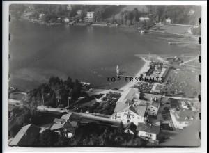 ZZ-0800/ Rottach am Tegernsee Foto seltenes Luftbild ca.1938 18 x 13 cm