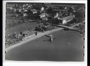 ZZ-0799/ Rottach am Tegernsee Foto seltenes Luftbild 1937 18 x 13 cm