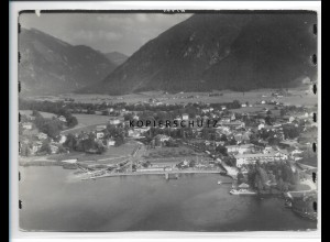 ZZ-0798/ Rottach am Tegernsee Foto seltenes Luftbild 1937 18 x 13 cm
