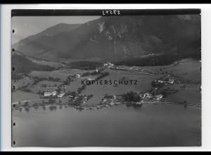 ZZ-0796/ Fischhausen am Schliersee Foto seltenes Luftbild 1936 18 x 13 cm