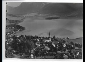 ZZ-0793/ Schliersee Foto seltenes Luftbild 1936 18 x 13 cm