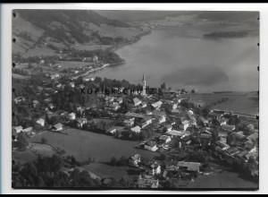 ZZ-0792/ Schliersee Foto seltenes Luftbild 1936 18 x 13 cm