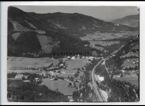 ZZ-0788/ Bad Kreuth Foto seltenes Luftbild 1936 18 x 13 cm