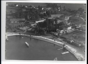 ZZ-0787/ Bad Wiessee Foto seltenes Luftbild ca.1938 18 x 13 cm