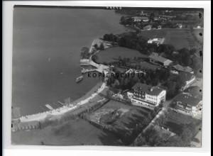 ZZ-0786/ Bad Wiessee Foto seltenes Luftbild ca.1938 18 x 13 cm