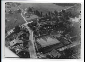 ZZ-0785/ Bad Wiessee Foto seltenes Luftbild ca.1938 18 x 13 cm