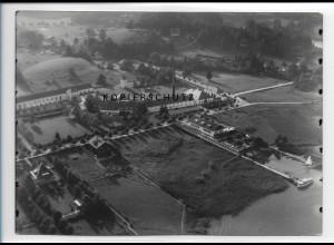 ZZ-0783/ Bad Wiessee Foto seltenes Luftbild ca.1938 18 x 13 cm