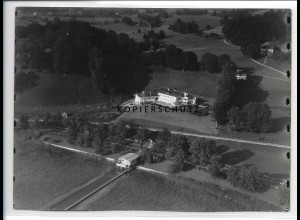 ZZ-0781/ St. Quirin am Tegernsee Foto seltenes Luftbild ca.1938 18 x 13 cm