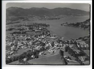 ZZ-0779/ Egern am Tegernsee Foto seltenes Luftbild 1936 18 x 13 cm