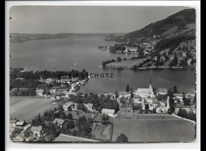 ZZ-0778/ Egern am Tegernsee Foto seltenes Luftbild 1936 18 x 13 cm