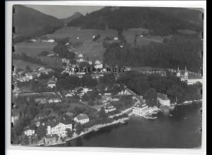 ZZ-0773/ Tegernsee Foto seltenes Luftbild 1937 18 x 13 cm