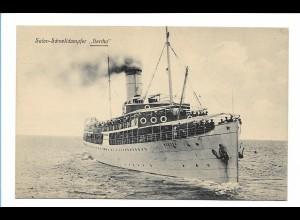 V190/ Salon-Schnelldampfer Herha AK ca.1910