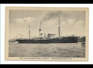 V195/ Dampfer Parana Hamburg-Südamerika-Linie ca.1920