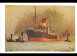 V201/ Dampfer Antonio Delfino Hamburg-Süd AK ca.1925