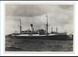 V202/ Dampfer Cap Norte Hamburg-Süd Foto AK ca.1935