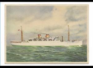 V217/ Dampfer Milwaukee HAPAG Hamburg-Amerika-Linie AK