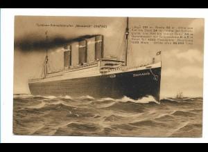 V221/ Dampfer Bismarck HAPAG AK ca.1920