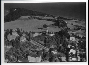 ZZ-0824/ Göhren Rügen Foto seltenes Luftbild 1939 18 x 13 cm