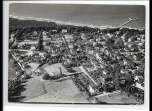 ZZ-0826/ Göhren Rügen Foto seltenes Luftbild 1939 18 x 13 cm
