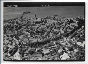 ZZ-0830/ Barth Meckl. Foto seltenes Luftbild 1939 18 x 13 cm