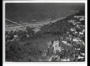 ZZ-0832/ Göhren Rügen Foto seltenes Luftbild 1939 18 x 13 cm