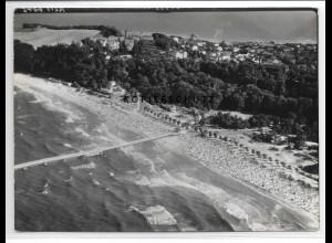 ZZ-1105/ Göhren Rügen Foto seltenes Luftbild 1939 18 x 13 cm